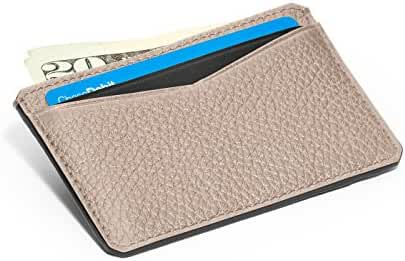 Genuine Leather Credit Card Case. Slim wallet perfect for 5 credit cards - WESTBOURNE
