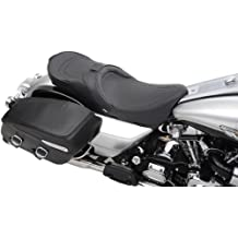 Drag Specialties Touring Seat Black Pinstripe Fits 97-07 Harley FLHR Road King