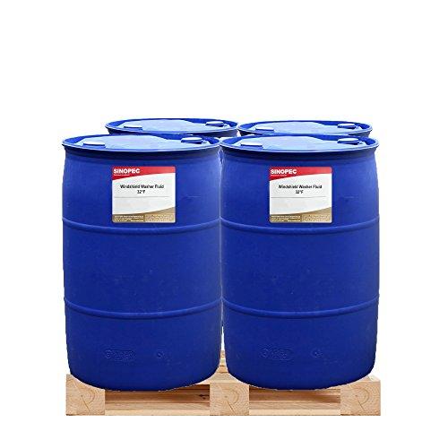Windshield Washer Fluid, 32°F - 55 Gallon Drum by Sinopec