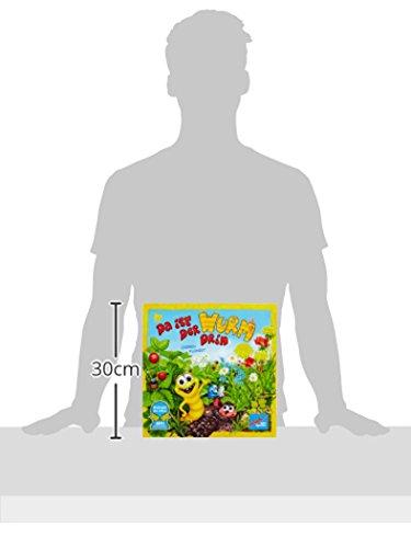 Zoch 601132100 Da ist der Wurm drin, Kinderspiel 2011, kinderleichtes und gewitztes Würfel-und Beobachtungsspiel, ab 4 Jahren 6