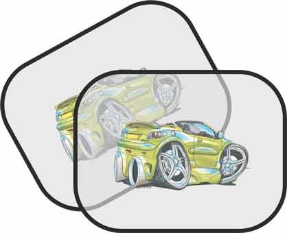 Personalised Koolart Peugeot 206cc Car - Sun Visor for Cars  Amazon.co.uk   Kitchen   Home 23c73e4f2d6