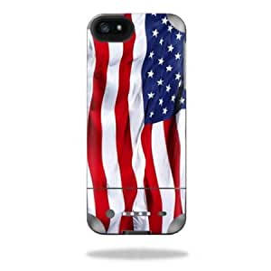 Protective Vinyl Skin Decal Cover for Mophie Juice Pack Helium iPhone 5 External Battery Case Sticker Skins American...