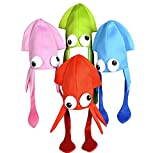 Squid Hat Party Accessory, Colors may vary