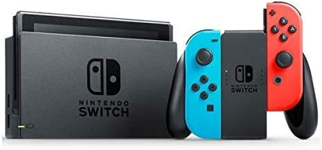 Nintendo Switch - Consola color Azul Neón/Rojo Neón + Pokémon ...