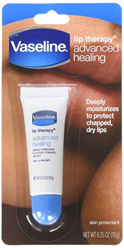 Vaseline Lip Therapy Advanced Formula 0.35 oz (Pack of 3) -