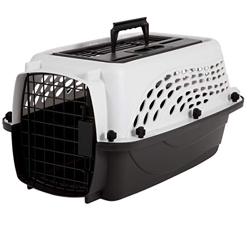 Whisker Doodle 2-Door Easy Load Cat & Dog Kennel-up to 10LBS