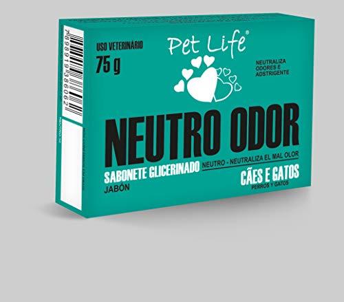 Sabonete Pet Life Neutro Odor Cães e Gatos 75g
