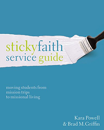 Sticky faith service guide moving students from mission trips to sticky faith service guide moving students from mission trips to missional living kara powell brad m griffin 9780310524205 amazon books fandeluxe Gallery