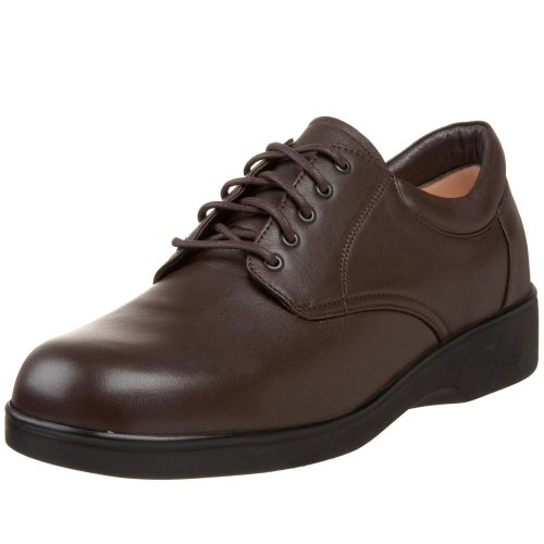 Apex Men's 1271M Conform Lace Oxford,Brown,13 M (Apex Mens Shoes)
