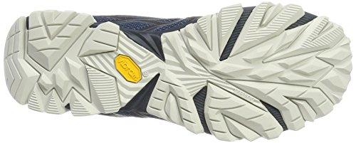 Merrell Moab Fst GTX, Stivali da Escursionismo Uomo Blu (Navy/White)