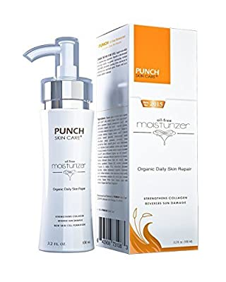 Punch Skin Care's Exfoliating Face Scrub Microdermabrasion Vitamin C Face Exfoliator | Natural Brightening Facial Scrub | Acne Scars, Wrinkles, and Pores Removal Scrub from Punch Skin Care