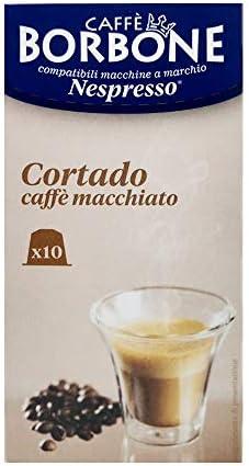10 Capsule Caffè Borbone cortado – latte macchiato compatibili Nespresso ®