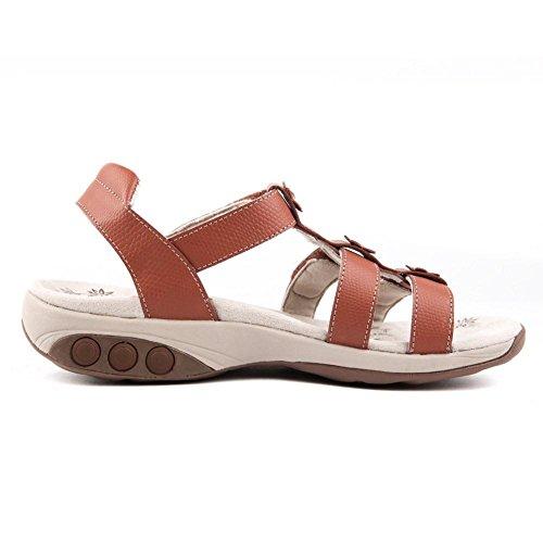 Sandalo Regolabile Da Donna Gladiatore In Pelle Claire Therafit - Per Fascite Plantare / Dolore Al Piede Marrone