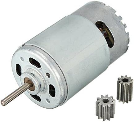 Alamor Engranajes del Motor De 30000 RPM para Los Niños Recambios del Coche del Paseo 10 Dientes 12 Voltios