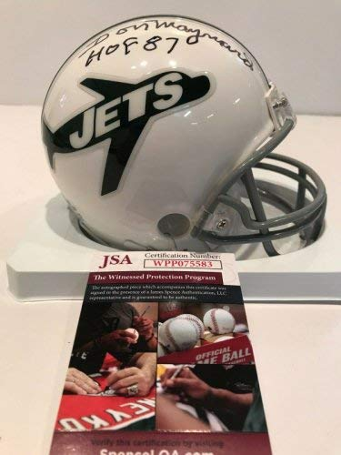 Sam Darnold New York Jets Signed Autograph CHROME Speed Mini Helmet Steiner Sports Certified ****BLOWOUT SALE****