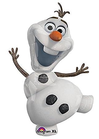 Großer Folienballon * OLAF * zum Kindergeburtstag oder für eine ...