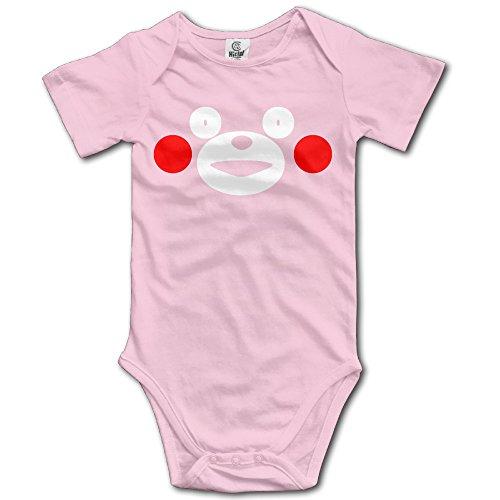 [Summer Cute Kawai Japan Bear Infant Baby's Romper Climb Clothes 24 Months Pink] (Sims 3 Bear Costume)