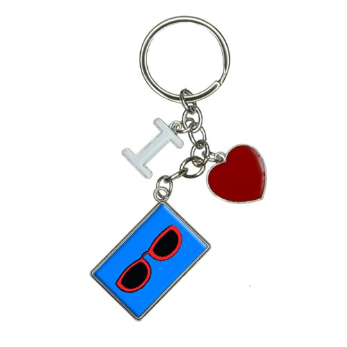 Sunglasses Shades I Heart Love Keychain Key - I Sunglasses Uk