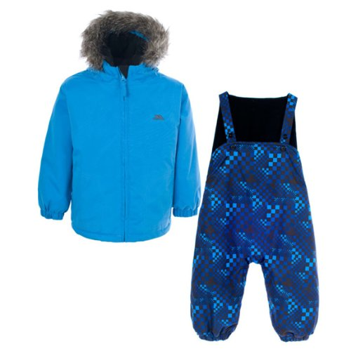 Trespass Baby Boys Iggle Ski Jacket and Matching Ski Pants