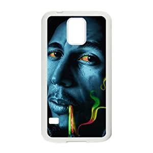 Bob marley rasta smoke Phone Case for Samsung Galaxy S5 Case