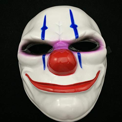 Clown Mask Scary - Style Fashion 1pc Pvc
