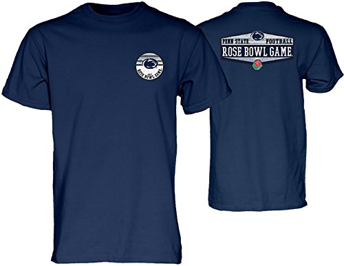 Bowl Penn State Rose (Elite Fan Shop Penn State Football Rose Bowl Tshirt Navy - L)