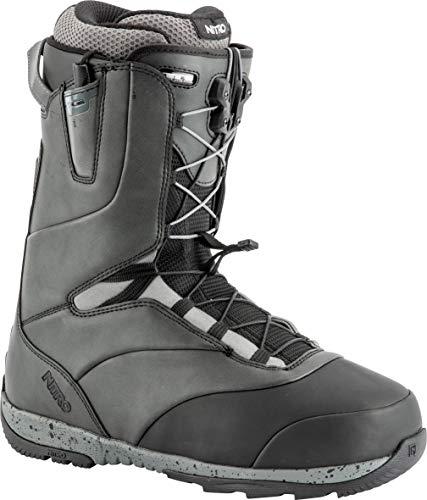 (Nitro Snowboards Venture TLS Boots, Men, Mens, 848449, Black-Charcoal, 320)