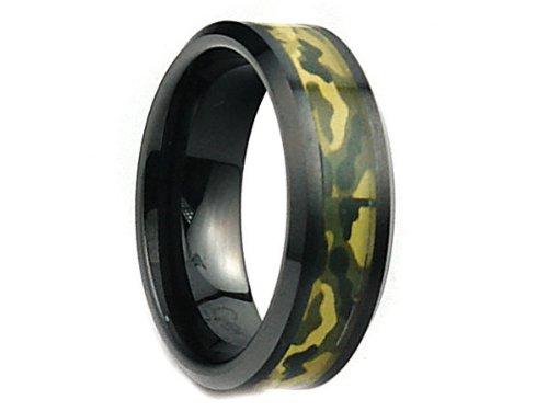 15 Ring Green Hunter - 8mm