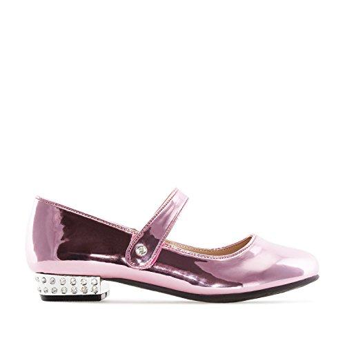 Jane Machado am5169 26 zapato Mary dimensioni Andres Girl As verniciata Piccole 35 in pelle A rosa AITwqn