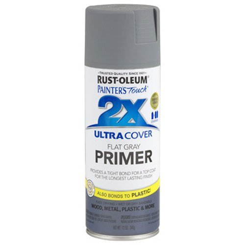 020066187453 - Rust-Oleum 249088 Painter's Touch Multi Purpose Spray Paint, 12-Ounce, Gray Primer carousel main 0