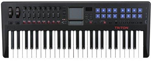 [해외] KORG USB MIDI키보드 TRITON taktile-49 트라이톤(TRITON) 다쿠퍼터이루 49열쇠