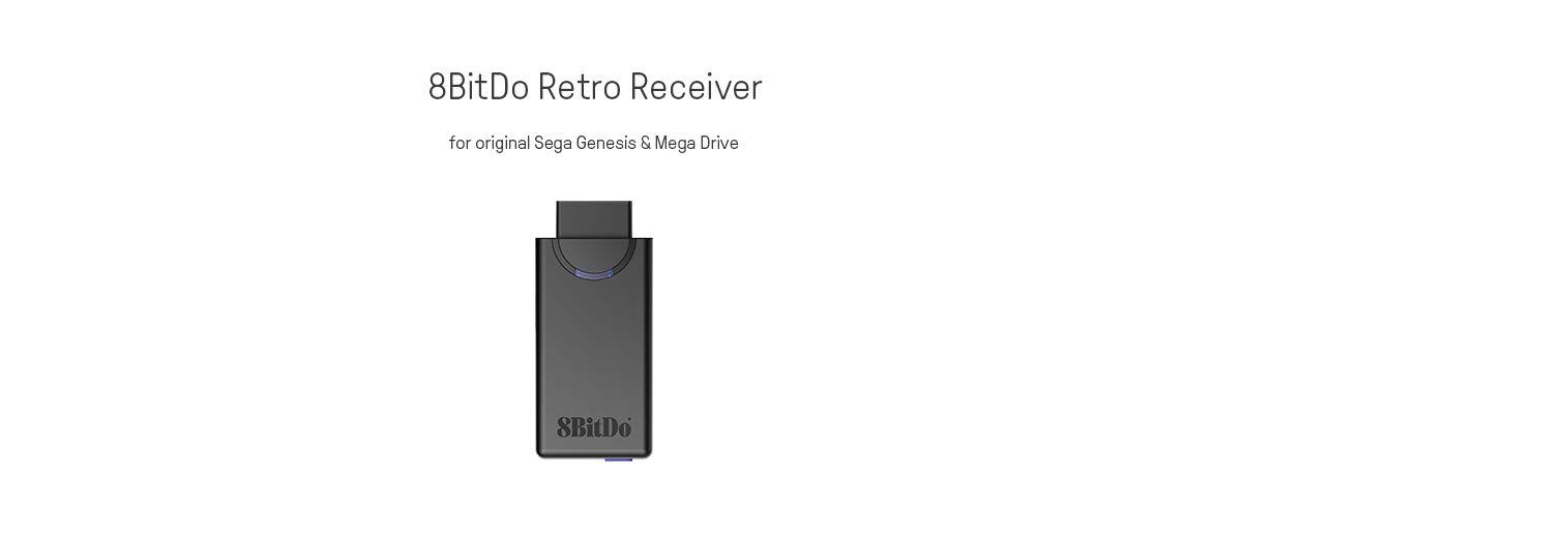 8Bitdo Retro Receiver for the Original Sega Genesis and Mega Drive - Bluetooth - Sega Genesis by 8Bitdo (Image #6)