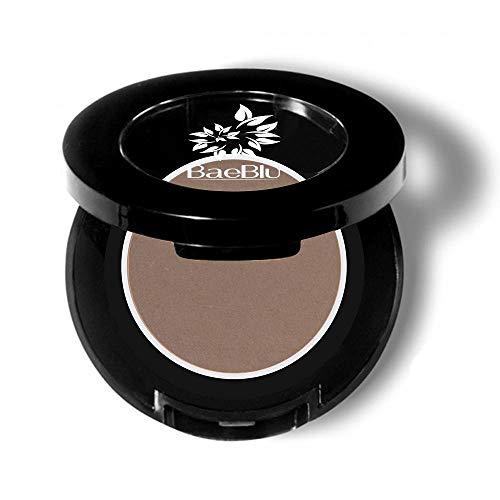 BaeBlu Eyebrow Powder, Organic Vegan 100% Natural, Fill-in Smudge Proof Brow Tint, Made in USA, Taupe