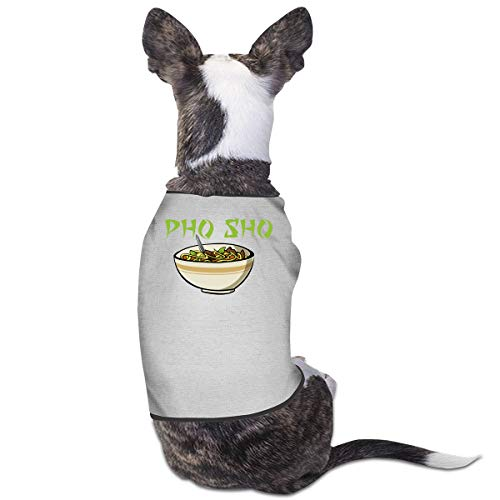 Nicokee Puppy Dogs Shirts Costume Pho Sho Pets Clothing Warm Vest T-Shirt -