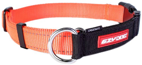 EzyDog Checkmate Collar, Small, Blaze Orange