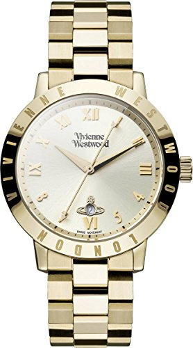 Vivienne Westwood Quartz Women's Watch VV152GDGD Gold