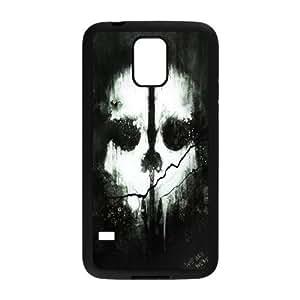 Samsung Galaxy S5 Phone Case Black Cod ghosts VMN8175628