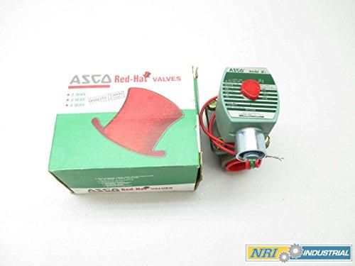 NEW ASCO 8210G88 RED HAT 120V-AC 3/4 IN NPT SOLENOID VALVE D444493