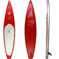 """airSUP 12'6""""x30""""x6"""" Inflatable SUP 15psi Stand Up Paddleboard, Roll It up and Store in the Bag, Race / Cruise, Super Light! by airSUP"""