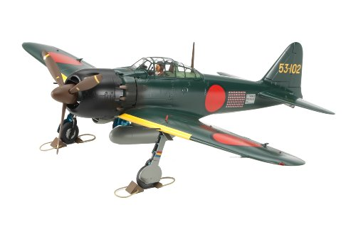 1/48 Scale Mitsubishi A6M5 Zero Fighter 53-102 (Completed Model)
