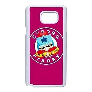 Generic for Samsung Galaxy Note 5 Cell Phone Case White Franky Custom HOAHSJJDH4712