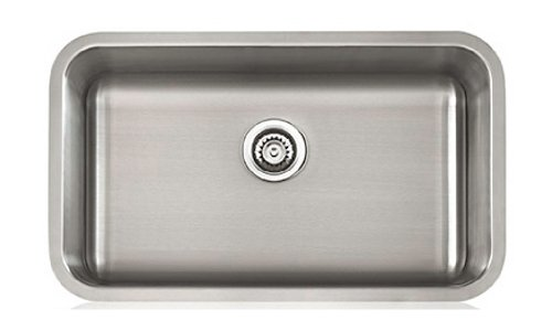 Lenova SS CL S2 16 16 Gauge Stainless Steel Classic Single Bowl Under Mount  Kitchen Sink, 29 7/8 X 18 1/16 Inch   Single Basin Kitchen Sink   Amazon.com