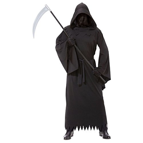 AMSCAN Phantom of Darkness Halloween Costume for Men, Plus Size, with Veil]()