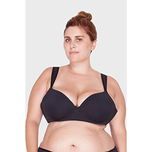 Sutiã Alça A Comfort Plus Size Preto-48