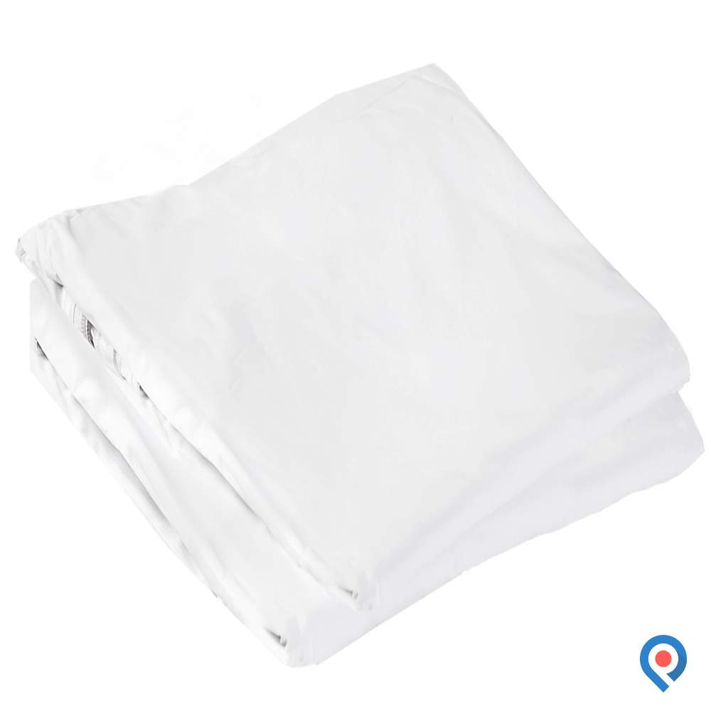 Pivit Zippered Mattress Pad Protector Cover for Twin Size Bed | 80'' x 36'' x 6'' | Hypoallergenic Waterproof Noiseless Odorless Plastic | Complete Protection from Bed Bugs, Pee, Moisture, Stains & Dust