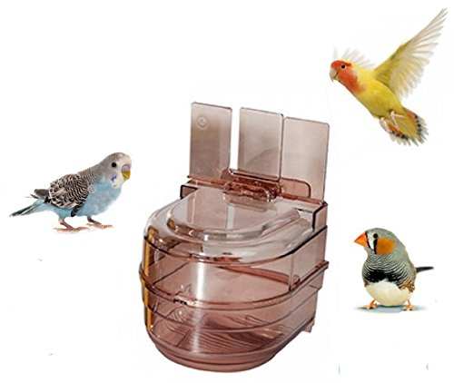 Avi-One Universal Caged Bird Bath Multi Cage Bird Bath for Budgies Canaries Finches