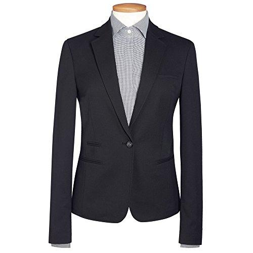 Pin Dot Suit Jacket (Brook Taverner Womens/Ladies Ariel Suit Jacket (12R) (Navy Pin Dot))