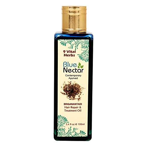 Blue Nectar Ayurvedic Hair Repair And Treatment Oil- 100Ml ()