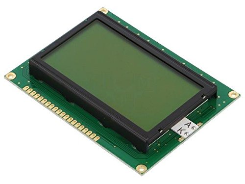 RG12864A-YHY-X Display LCD graphical STN Positive 128x64 green LED RAYSTAR OPTRONICS