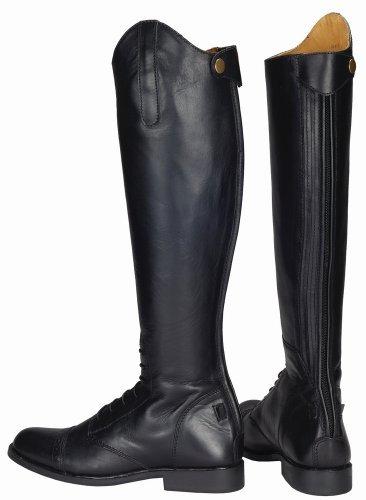 TuffRider Women's Baroque Field Boots, Black, 9 Wide by TuffRider